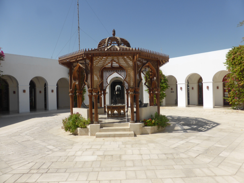 Hotel Courtyard - Egypt