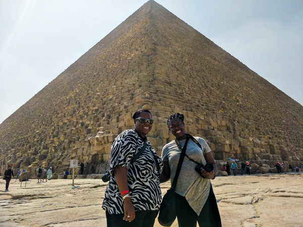 Fizzstah & MummyM At The The Great Pyramid of Giza