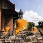 Ayutthaya-buddhas